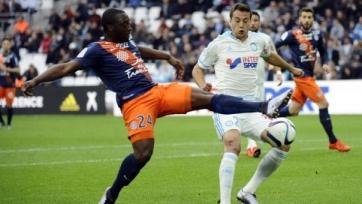 «Марсель» обыграл «Монпелье» и вышел в 1/8 финала Кубка Франции