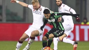 «Сассуоло» и «Торино» разошлись миром в отложенном матче