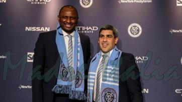 Виейра представлен в качестве главного тренера «Нью-Йорк Сити»
