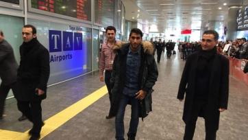 Арас Озбилиз прибыл в Стамбул