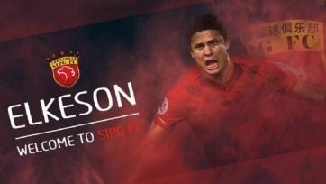 Элкесон перешёл из «Гуанчжоу» в «Шанхай Теллэйз» за 18,5 миллионов евро