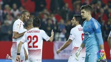 «Севилья» забила два безответных мяча «Мирандесу»