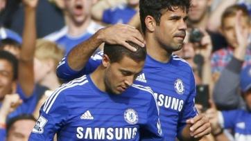 Коста и Азар готовы помочь «Челси» в дерби с «Арсеналом»