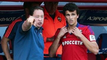 Ерёменко начнёт тренироваться в общей группе, начиная со второго сбора ЦСКА