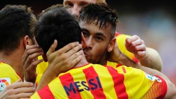 Луис Энрике рассчитывает на то, что Неймар пролонгирует контракт с «Барсой»