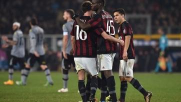 Гол Балотелли с «точки» принёс «Милану» победу над «Алессандрией»