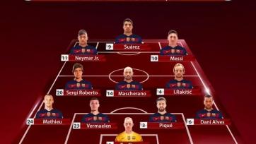 «Барселона» объявила состав на матч с «Атлетиком»