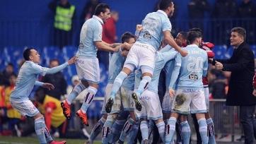 «Сельта» выбила «Атлетико» из Кубка Короля