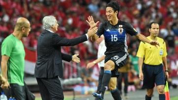 Японский футболист провёл тренировку в составе «Зенита»