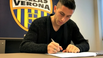 Официально: Лука Марроне — футболист «Вероны»