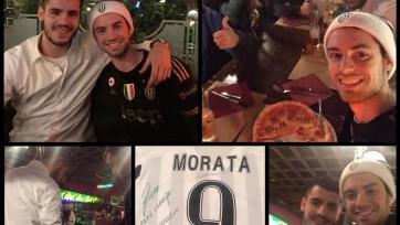 Альваро Мората пригласил на ужин юного поклонника «Ювентуса»