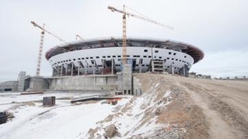 «Зенит-Арена» не будет построена в срок