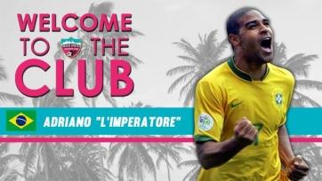 Адриано станет игроком и совладельцем «Майами Юнайтед»