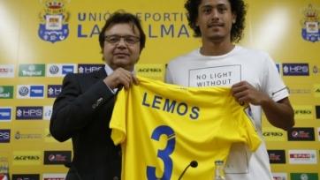 «Лас-Пальмас» представил Лемоса