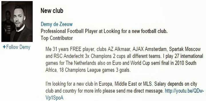Web Player. Как словенский клуб усилился через социальную сеть