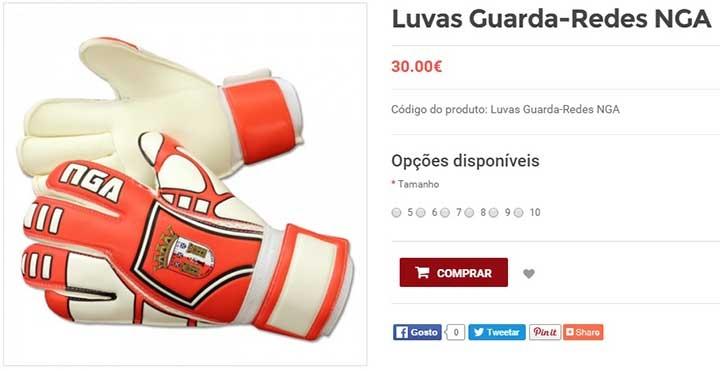 По магазинам. Забавные вещи из онлайн-магазинов португальских клубов