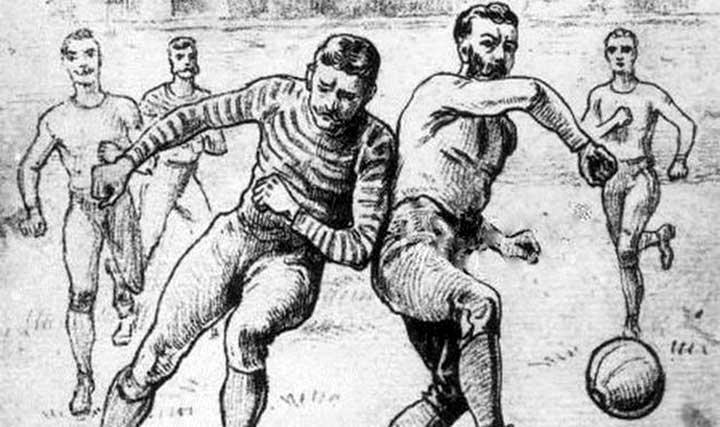 Рождение футбола. Первый свод правил