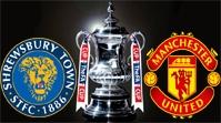 Шрусбери Таун - Манчестер Юнайтед Обзор Матча (22.02.2016)
