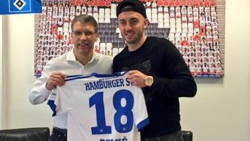 Официально: Йосип Дрмич — игрок «Гамбурга»