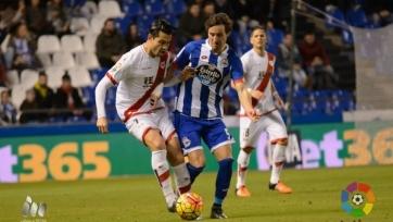 «Депортиво» ушёл от поражения в матче с «Райо Вальекано»