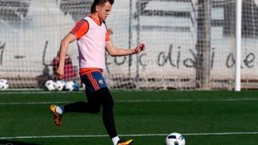 Денис Черышев провёл первую тренировку вместе с футболистами «Валенсии»