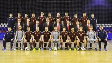 Сборная России по футзалу готова к старту на Евро-2016