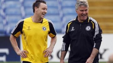 Гус Хиддинк: «Челси» не принял ещё решение по Терри»