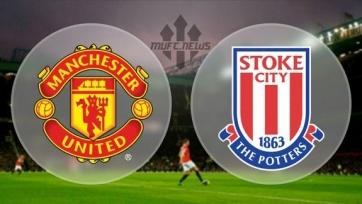 Стали известны стартовые составы «Манчестер Юнайтед» и «Сток Сити»