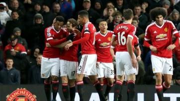 «Манчестер Юнайтед» разгромил «Сток Сити»