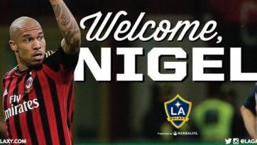 Официально: Найджел Де Йонг стал игроком «Лос-Анджелес Гэлакси»