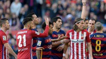 «Атлетико» оспорит дисквалификацию Фелипе Луиса