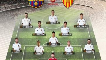 Денис Черышев не попал в стартовый состав «Валенсии» на матч с «Барселоной»