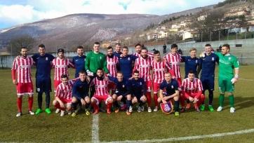 «Мордовия» покуражилась в матче против команды из итальянской Серии D