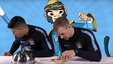 Игроки «Манчестер Сити» отведали блюда китайской кухни