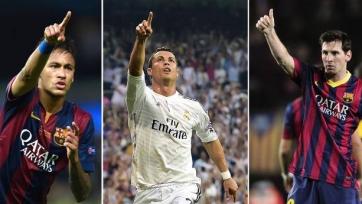 Атакующие тройки «Реала» и «Барселоны» забивают чаще, чем большинство ведущих европейских клубов