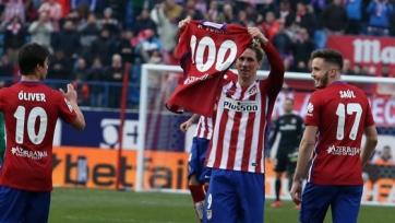 Фернандо Торрес забил свой сотый гол в составе «Атлетико»
