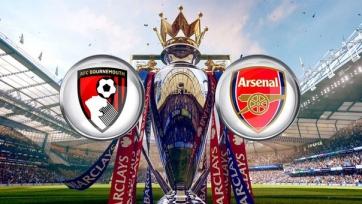 Стал известен стартовый состав «Арсенала» на матч с «Борнмутом»