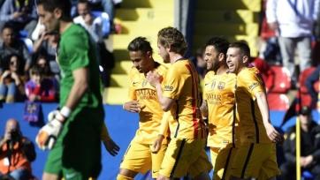 «Барселона» снова сильнее «Леванте»