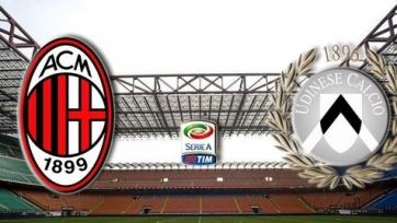 Стали известны стартовые составы «Милана» и «Удинезе»
