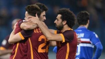«Рома» одержала третью победу подряд