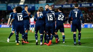 «Реал» вымучил победу в Гранаде