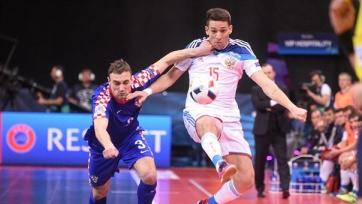 Россия в четвертьфинале Чемпионата Европы по футзалу сыграет против Азербайджана