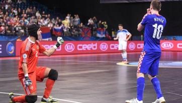 Голкипер сборной России Густаво рассказал, как сумел отразить дабл-пенальти