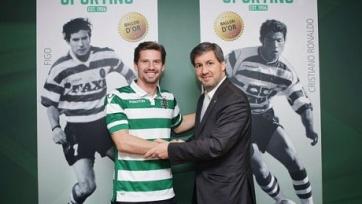 Адриен Силва пролонгировал соглашение со «Спортингом»