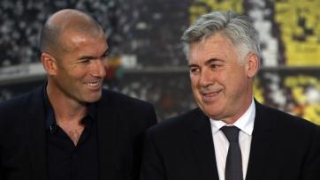 Карло Анчелотти: «Зидан добьётся успеха, у него есть всё для этого»