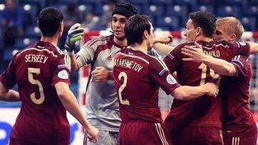 Россия вышла в полуфинал чемпионата Европы по футзалу