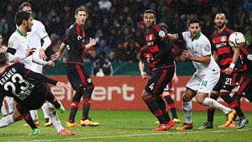 «Вердер» стал первым полуфиналистом Кубка Германии