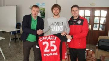 Официально: Хурцидзе стал игроком «Амкара»