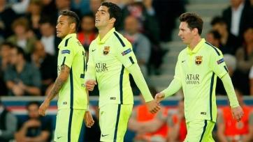 Неймар, Луис Суарес и Лионель Месси не сыграют с «Валенсией»