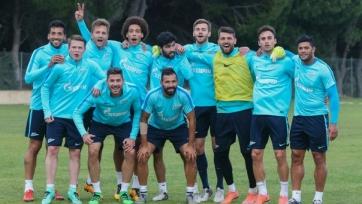 «Зенит» до матча с «Бенфикой» будет работать в Испании
